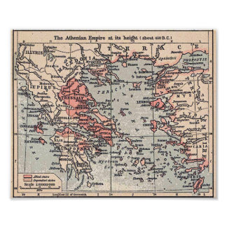 Athenian Empire Poster