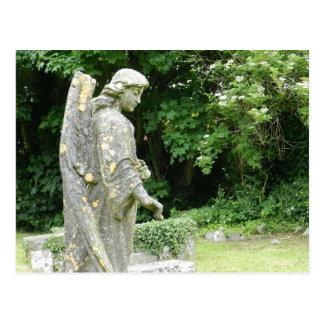 Athenry's St.Mary's Church graveyard - Ireland Postcard