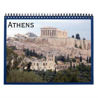 athens 2018 wall calendar