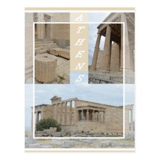 Athens Acropolis postcard