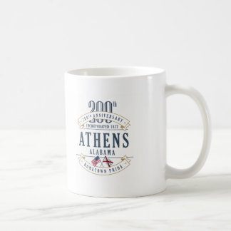 Athens, Alabama 200th Anniversary Mug