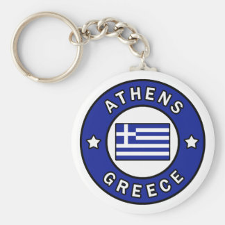 Athens Greece Key Ring