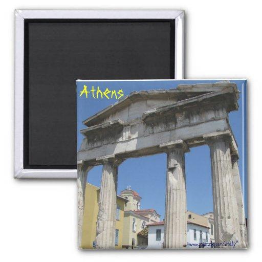 Athens Greece magnet
