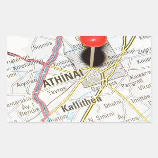 Athens, Greece Rectangular Sticker