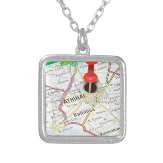 Athens, Greece Silver Plated Necklace