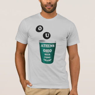 Athens, Ohio Beer Pong T-Shirt