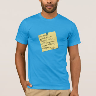 Athiest Joseph and Mary joke T-Shirt