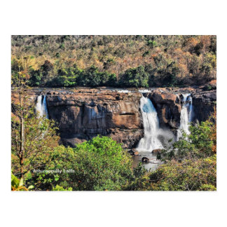 Athirappilly Falls, Panchayath, Kerala, India Postcard