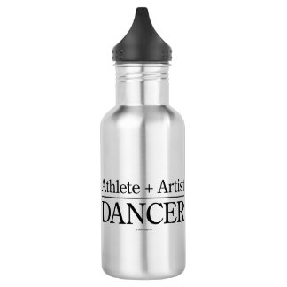 Athlete + Artist = Dancer 532 Ml Water Bottle