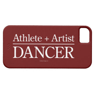 Athlete + Artist = Dancer iPhone 5 case