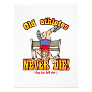 Athletes Flyer Design
