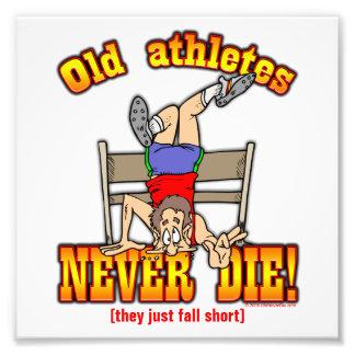 Athletes Photo Print