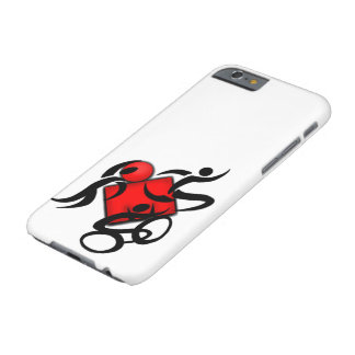 athletic sports triathlon competition covers barely there iPhone 6 case