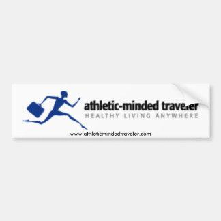 AthleticMindedTraveler Bumper Sticker