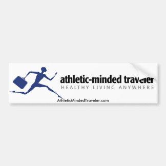 AthleticMindedTraveler.com Bumper Sticker