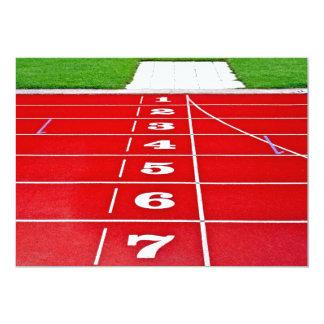 Athletics Running Track  Invitation