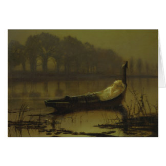 Atkinson Grimshaw Lady of Shalott CC0536 Card