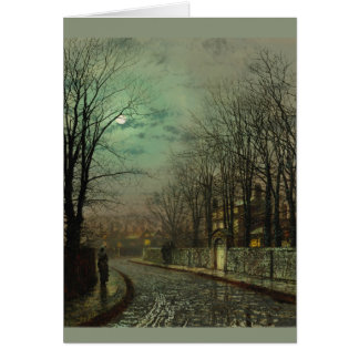 Atkinson Grimshaw Tryst CC0610 Greeting Card