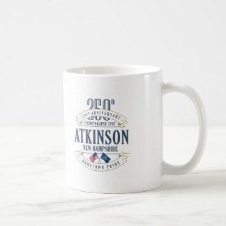 Atkinson, New Hampshire 250th Anniversary Mug