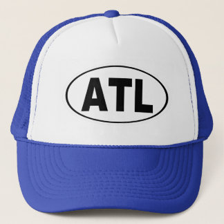 ATL Atlanta Georgia Trucker Hat