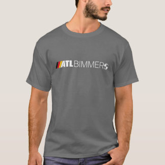 ATL Logo German - White Text T-Shirt