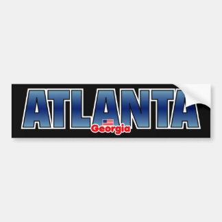 Atlanta Bumper Bumper Sticker