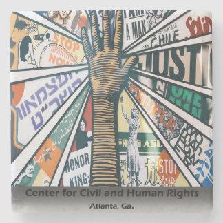 Atlanta Center For Civil and Human Rights,Coasters Stone Beverage Coaster