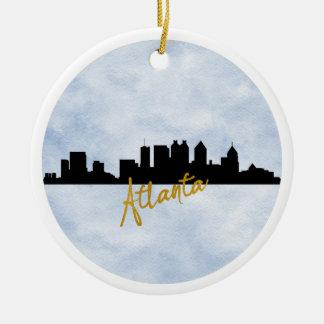 Atlanta Ceramic Ornament