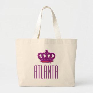 Atlanta Crown Jumbo Tote Bag
