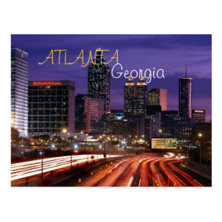 Atlanta, Georgia Postcard
