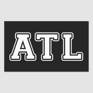 Atlanta Georgia Rectangular Sticker