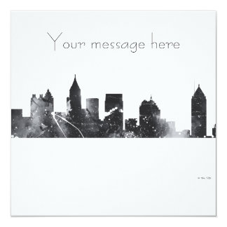ATLANTA GEORGIA SKYLINE - Invitations