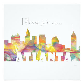 ATLANTA GEORGIA SKYLINE MCLR 2 - CARD