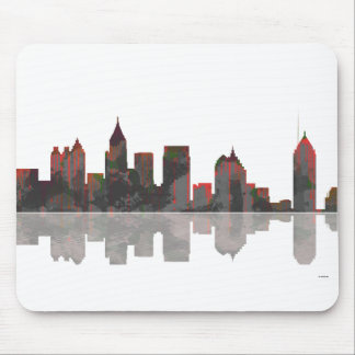 Atlanta Georgia Skyline Mouse Pad