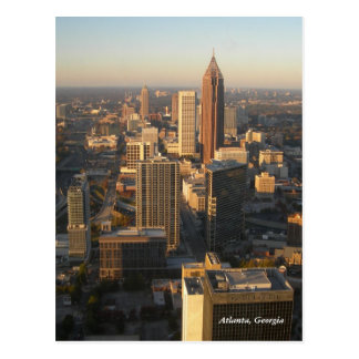 Atlanta Georgia Skyline Post Card