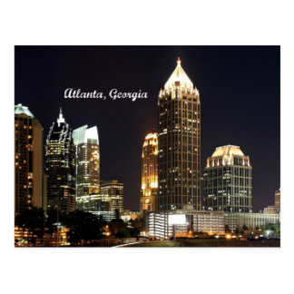 Atlanta, Georgia Skyline Postcard
