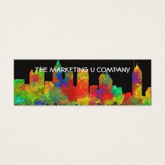 ATLANTA, GEORGIA SKYLINE - SG - Business cards