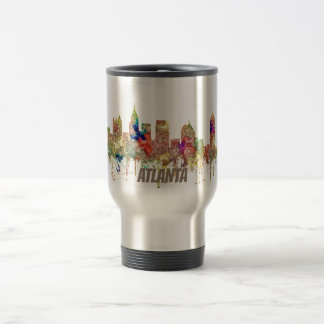 Atlanta Georgia Skyline SG-Faded Glory Travel Mug