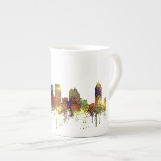 Atlanta Georgia Skyline SG-Safari Buff Tea Cup