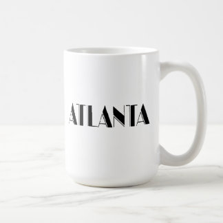 Atlanta Georgia Typographic design Coffee Mug