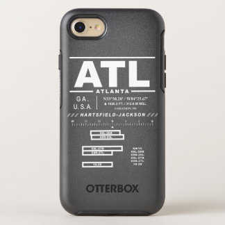 Atlanta International Airport ATL iPhone Case