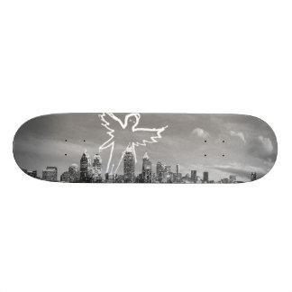 Atlanta Skyline 18.1 Cm Old School Skateboard Deck
