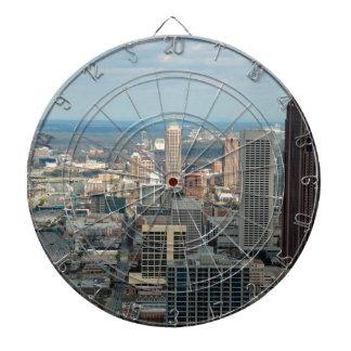 Atlanta Skyline Dartboard