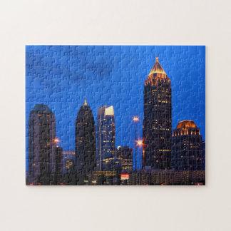 Atlanta Skyline Jigsaw Puzzle