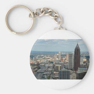 Atlanta Skyline Key Ring
