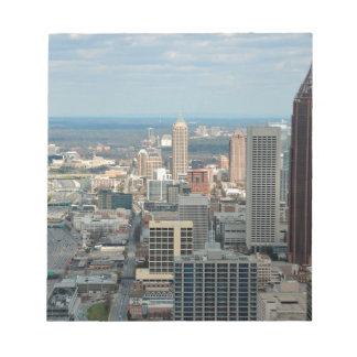 Atlanta Skyline Notepad