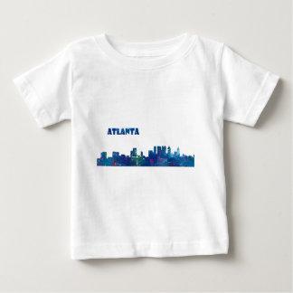 Atlanta Skyline Silhouette Baby T-Shirt