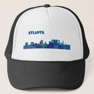 Atlanta Skyline Silhouette Trucker Hat