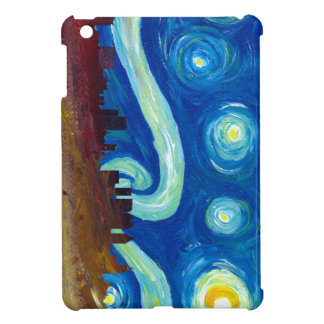 Atlanta Skyline Silhouette with Starry Night Cover For The iPad Mini