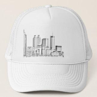 ATLANTA SKYLINE TRUCKER HAT